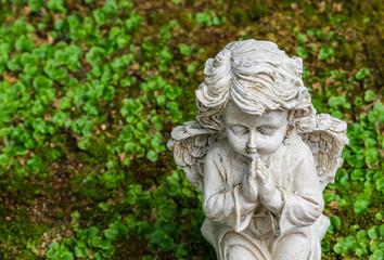 Friedhof Engel Grab Trauer Beten