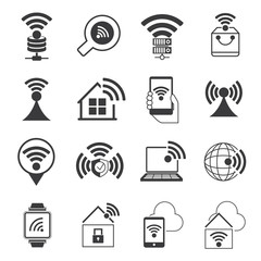 internet wifi icons