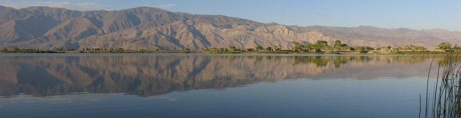 Poster de jardin Desert de sable view from diaz lake near lone pine, california