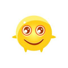 Content Round Character Emoji