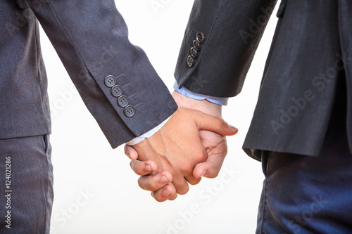 Gay Couple Holding Hands 12