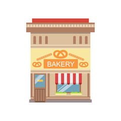 Bakery Commercial Building Facade Design