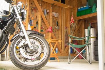 ガレージ バイク