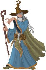 Canvas Prints Fairytale World Fantasy Style Wizard