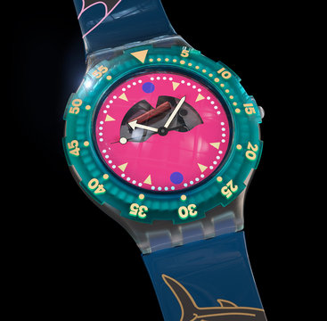 Swatch Happy Finish 3D Model CGI Product Design