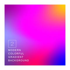 актуальный современный градиентный разноцветный яркий фон для фирменного стиля, рекламы, обложки, визитной карточки шаблона презентации, веб-дизайна и мобильных приложений