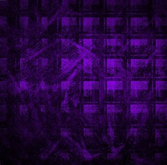 Grunge violet wall background or texture