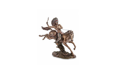 American Indian warrior, figurine