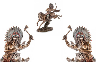 American Indians, figurines