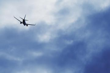 A Plane In The Sky; Alberta, Canada