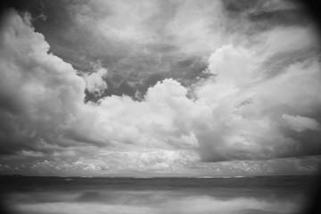 Cloud Formations Above The Ocean; Punta Cana, La Altagracia, Dominican Republic
