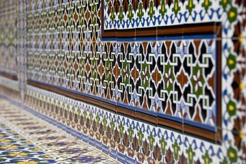 Colourful Ceramic Work; Mendoza, Argentina