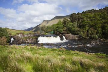 Aasleagh Waterfall; County Mayo, Ireland