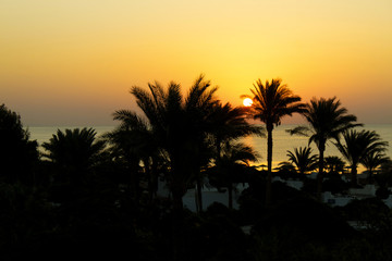 Sunrise, Red Sea, Egypt