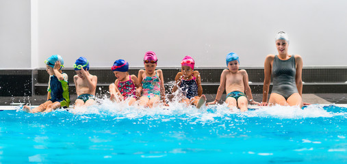 Swimming school for children