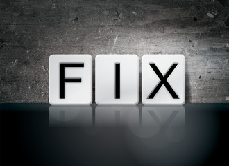Fix Tiled Letters Concept and Theme