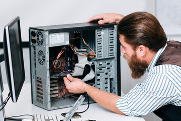 Electronics Engineering Repair Renovation Construction Fix Concept