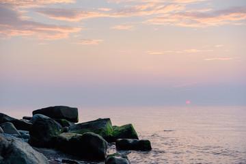 Coast in morning