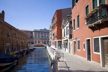 Foto auf Gartenposter Stadt am Wasser Каналы Венеции 2