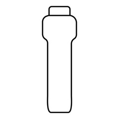 Dumbbell icon. Outline illustration of dumbbell vector icon for web
