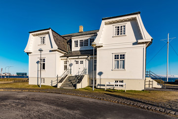 historically significant building hofdi house in reykjavik