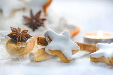 Zimtsterne, Weihnachten