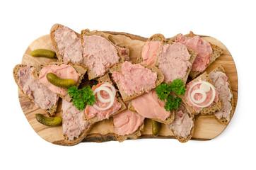 Brote mit Steichwurst