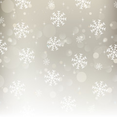 Hintergrund Weihnachten / Schneeflocken