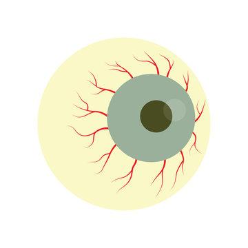 Halloween zombie eye