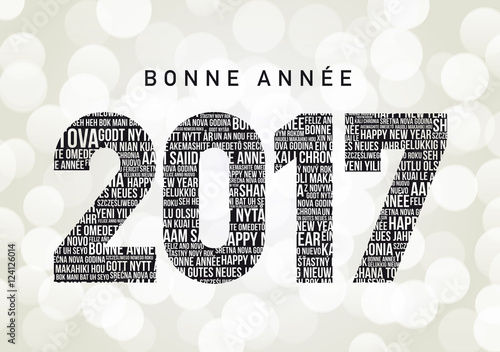 Bonne ann e 2017 en diff rentes langues fichier vectoriel libre de droits sur la banque d - Bonne annee dans toutes les langues ...