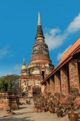 Wat Yai Chaimongkhon, Ayuthaya, Thailand