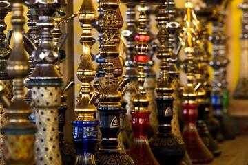 Details of shisha, closeup