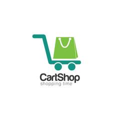 Cart Creative Concept Logo Design Template