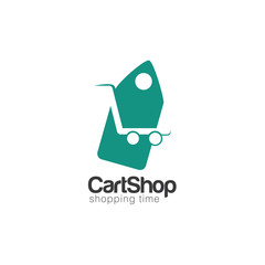 Cart Creative Concept Logo Design Template