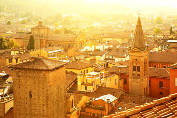Wall Mural - Roofs of Bologna