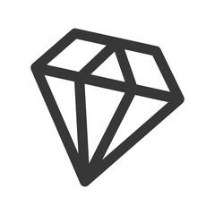 diamond fantasy isolated icon vector illustration design