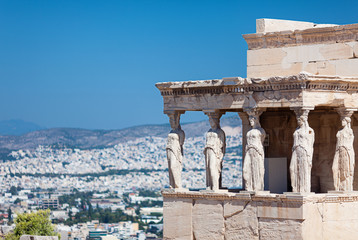 The Porch of the Caryatids, Athens