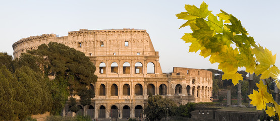 Wall Mural -  Colosseum Rom Herbst