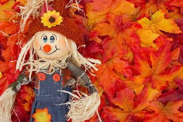 Halloween Scarecrow Scene