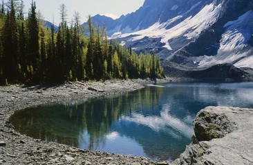 Floe Lake, Kootenay National Park, British Columbia, Canada
