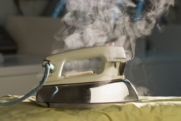 Steaming Iron