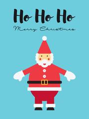 Santa Claus: Ho Ho Ho - Merry Christmas