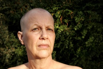 Portrait Of A Breast Cancer Survivor