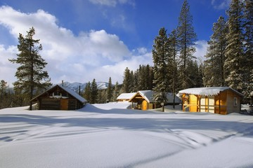 Cabins In British Columbia, Canada
