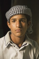 Young Berber Man From The Siwa Oasis, Siwa, Egypt