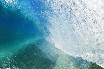 Blue ocean wave;Hana, maui, hawaii, united states of america