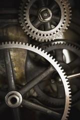Camrose, Alberta, Canada; Old Gears