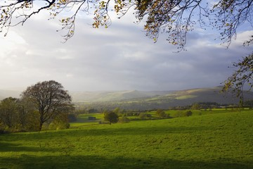 Derwent, Derbyshire, England; Rural Landscape In Peak District National Park