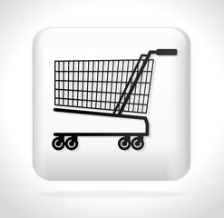 cart shopping icon button vector illustration eps 10
