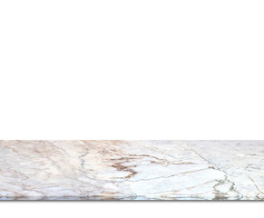 Marble counter isolated